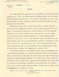 Brev fra Indenrigsministeriet med dispensation til giftemål s1