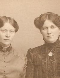 Mathilde Hjortskov & Alma Andersen
