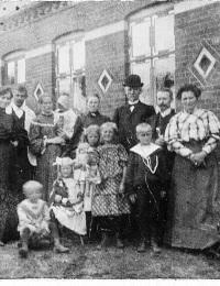 Hans Andersen og familie
